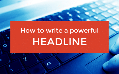 How to write a powerful headline