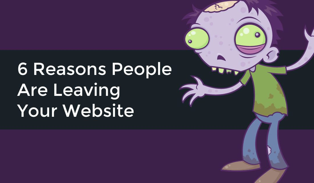 People Leave Your Website