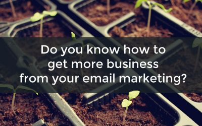 Do you know how to get more business from your email marketing?