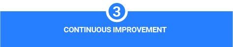 3. Continuous Improvement