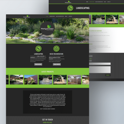 Warrigal Green Landscaping